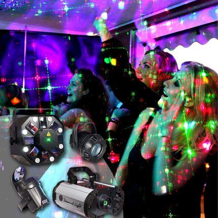 Комплект света для танцев - аренда