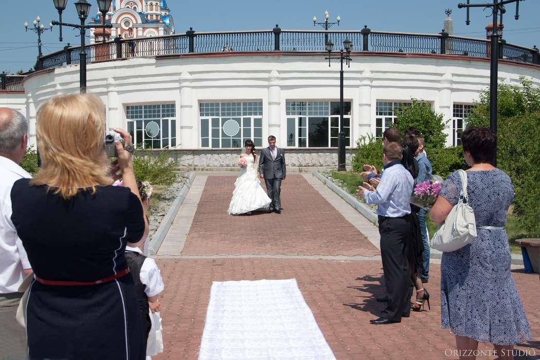 Свадьба с выездной регистрацией на смотровой площадке парка им. Муравьева-Амурского (Набережная) - фото 1552285 Orizzonte studio - свадьба под ключ