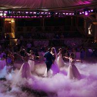 Постановка свадебного танца с сопровождением балерин.