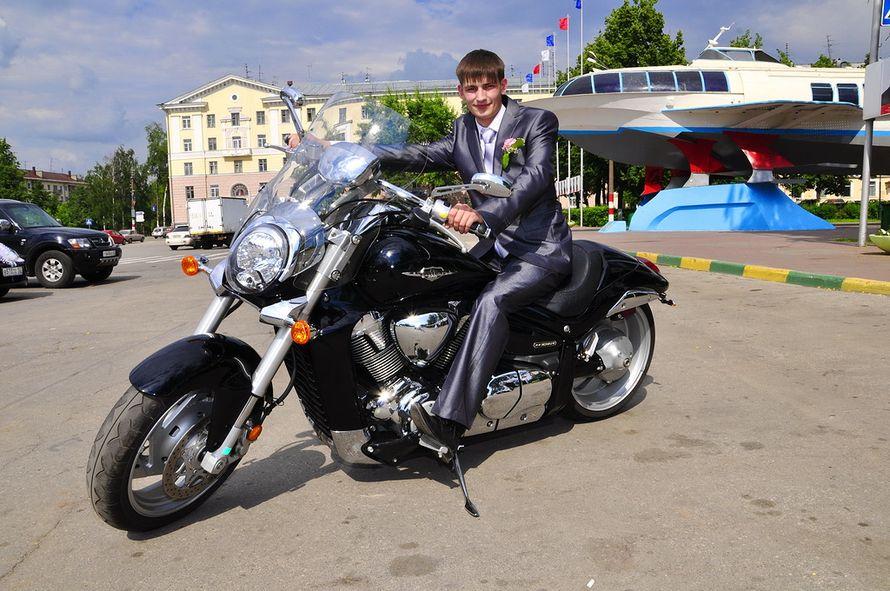 Фото 872455 в коллекции Мои фотографии - Свадебный Мотокортеж - аренда мотоциклов