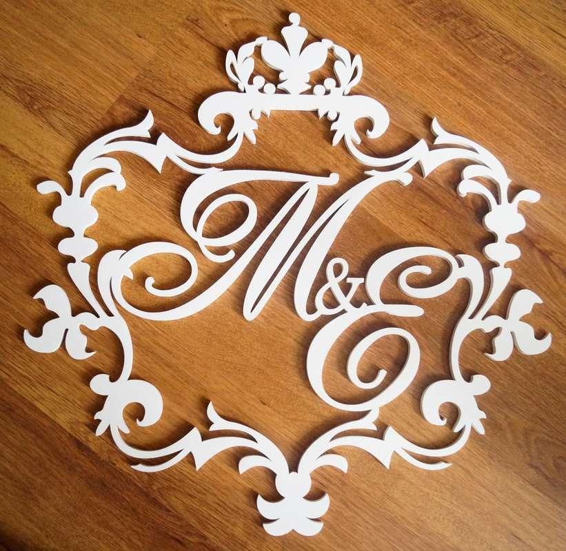 Свадебная монограмма - фото 14397738 Креафокс - аксессуары для свадьбы