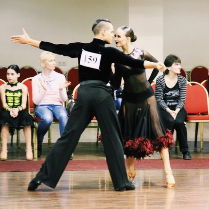 Шоу бальных танцев, стоимость за 1 танец