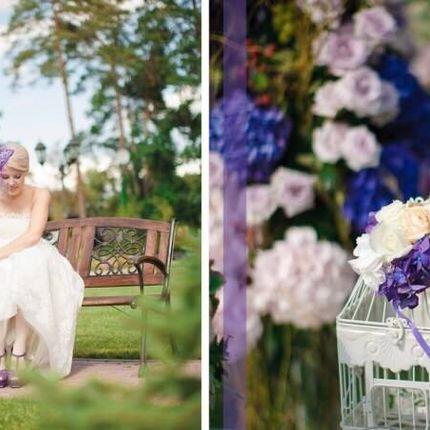Оформление столов цветочными композициями