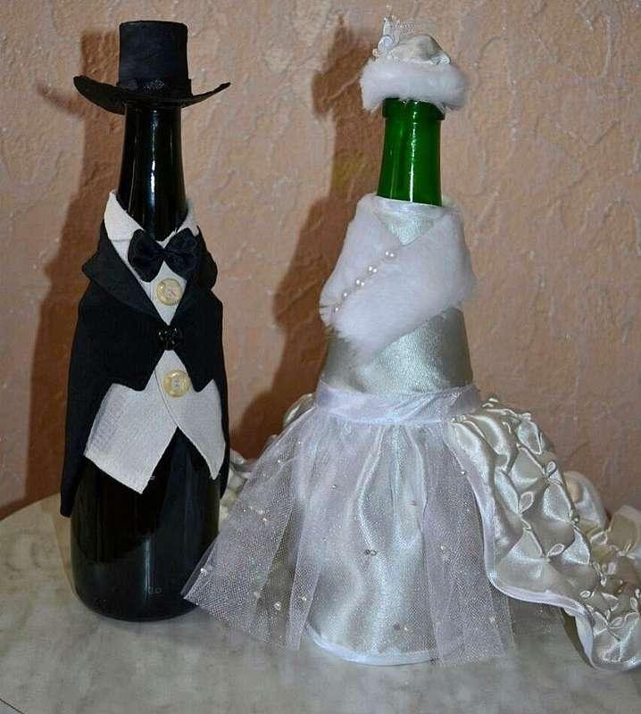 Фото 13440598 в коллекции Фужеры, свадебное шампанское, подушечка для колец, корзиночка - Оформители Wedding Decor73