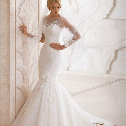 """Свадебное платье-трансформер """"Горный хрусталь"""""""