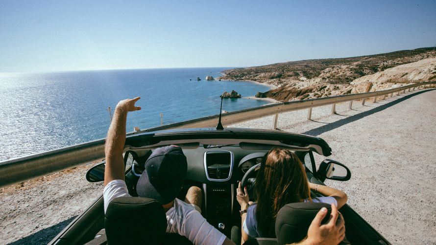 Новая серия с кабриолетом теперь на Кипре  #МестоНаДвоих - фото 13481478 Фотограф Торопов Артём