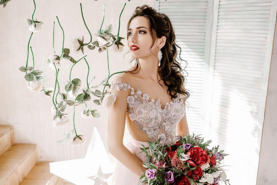 Фото 17707372 в коллекции Невесты - Визажист-стилист Анна Константинова