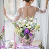 утро невесты, красивое утро невесты, нежный букет, сиреневый декор, сиреневые цветы