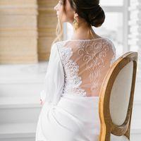 Эксклюзивное белое  будуарное платье невесты