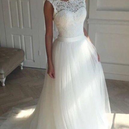Свадебное платье, модель 0071