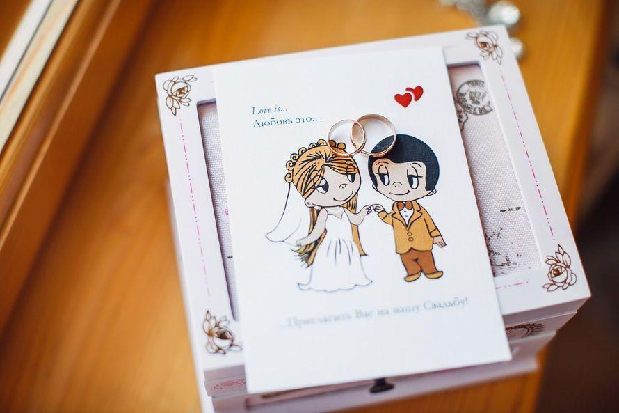 Картинка, открытка на свадьбу лав из