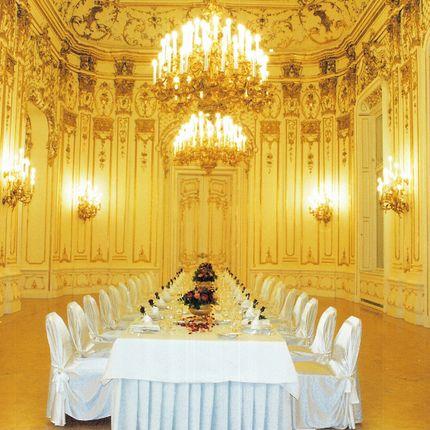 Свадьба за границей во дворце барона