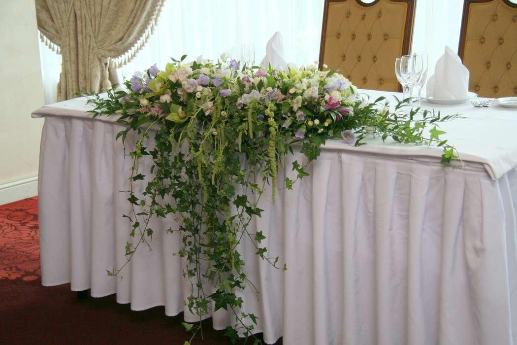 """композиция на стол молодых - фото 1406917 Мастерская декора """"Flowerdesign"""""""