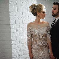 платье невесты прическа украшения