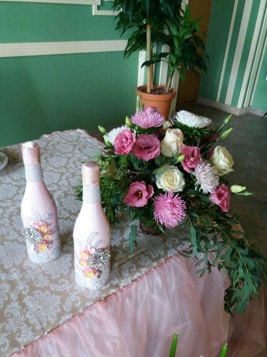 Фото 15683100 в коллекции Свадьба в розовых тонах - Студия флористики и декора Eventkyivua