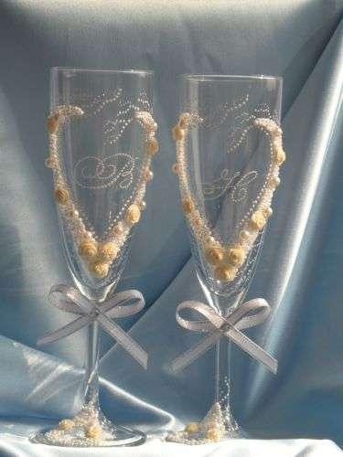 Классика с инициалами - фото 497609 Ямайка - свадебные аксессуары