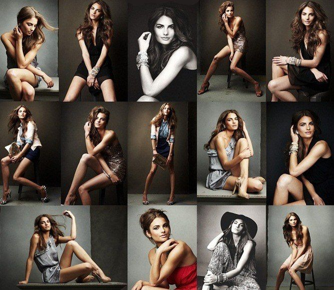девушки фото в разных позах