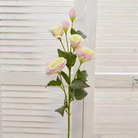 Цветок искусственный Ветка эустомы, арт 4624