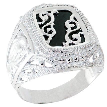 Серебряное кольцо для мужчин