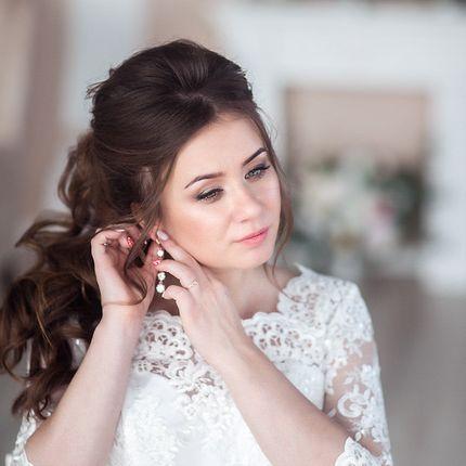 Образ для невесты (макияж и причёска)