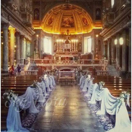 Оформление церкви для церемонии