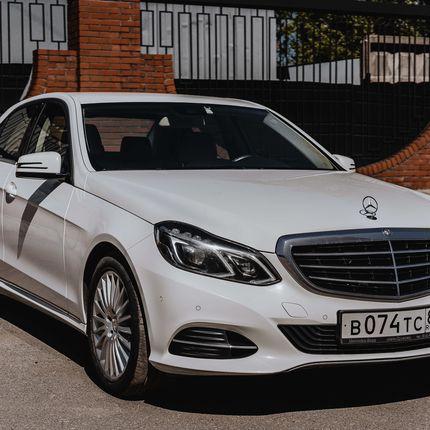 Mercedes E class в аренду