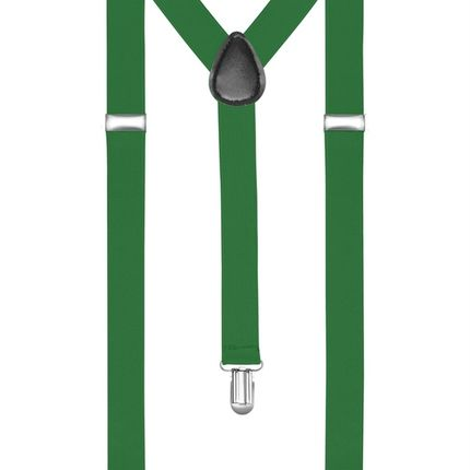Подтяжки классические зеленые