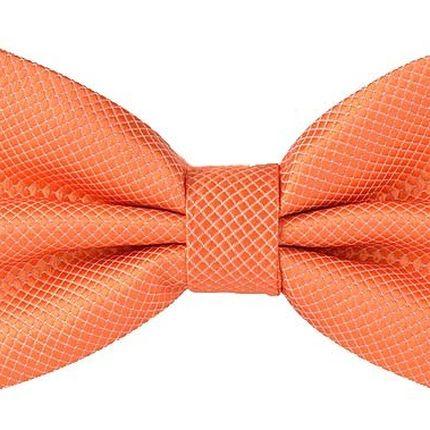 Галстук-бабочка оранжевая