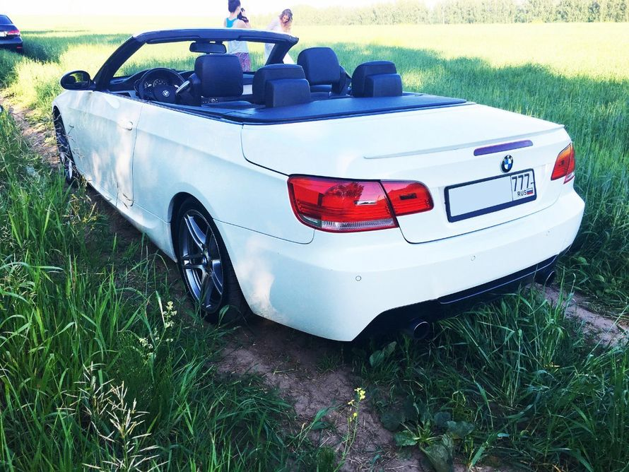 "- BMW 3 CONVERTIBLE, белая - фото 13986284 Транспортная компания ""Алмаз авто"""
