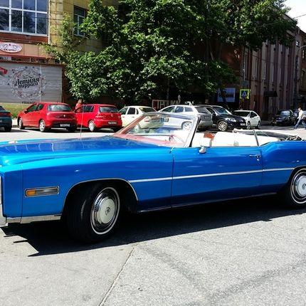 Аренда Cadillac Eldorado Blue