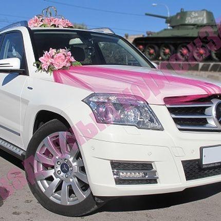 Аренда внедорожника Mercedes Benz GLK-220, цена за 1 час