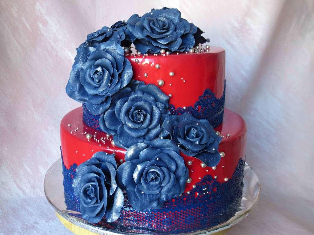 Фото 14463520 в коллекции Свадебные торты - Кондитер Ирина К.