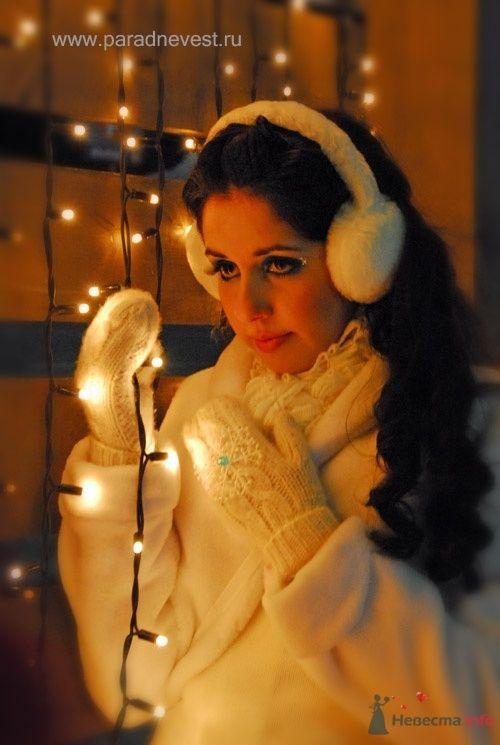 Фото 69507 в коллекции Зимний сказка или Парад невест в феврале - Стилист свадебного образа Летуновская Ольга
