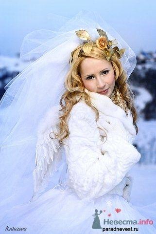 Фото 69511 в коллекции Зимний сказка или Парад невест в феврале - Стилист свадебного образа Летуновская Ольга