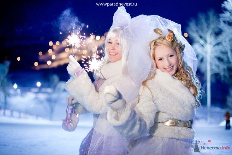 Фото 69533 в коллекции Зимний сказка или Парад невест в феврале - Стилист свадебного образа Летуновская Ольга