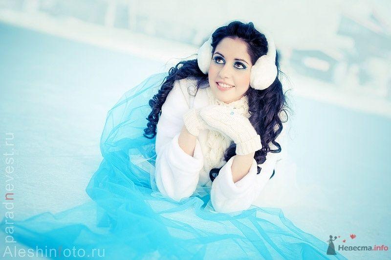 Фото 69583 в коллекции Зимний сказка или Парад невест в феврале - Стилист свадебного образа Летуновская Ольга