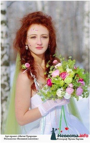 Фото 83842 в коллекции Арт-проект Ирины Лариной - Стилист свадебного образа Летуновская Ольга