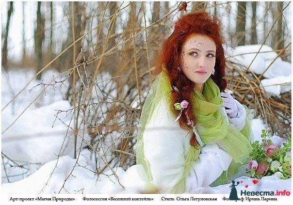 Фото 83844 в коллекции Арт-проект Ирины Лариной - Стилист свадебного образа Летуновская Ольга