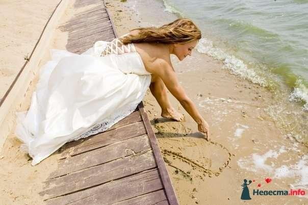 Фото 130995 в коллекции  Wedding steps on the sand... - Стилист свадебного образа Летуновская Ольга