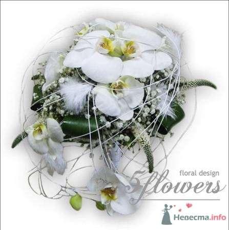"""Фото 35186 в коллекции букет невесты - Салон """"5 цветов"""""""