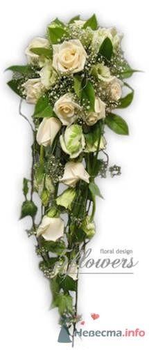 """Фото 35192 в коллекции букет невесты - Салон """"5 цветов"""""""