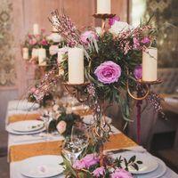 Декор свадебного стола от Wedding Bloom