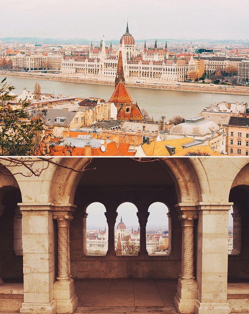 Фотосъёмка неполного дня в Будапеште, 23 - 25 февраля