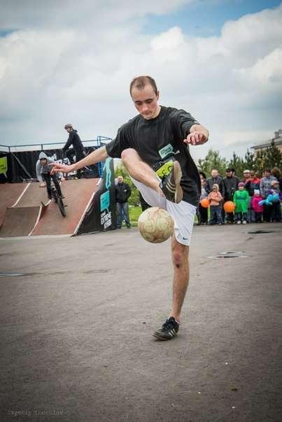 Фото 14149542 в коллекции Фото-отчеты с мероприятий - Футбольный фристайл KemerovoFF