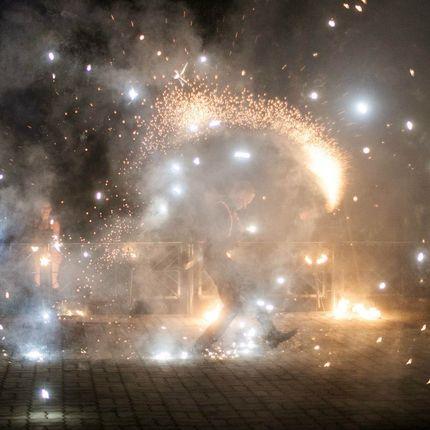 Огненно-пиротехническое шоу