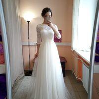 Свадебное платье: Джульетта Ткань:  кружево , евросетка. Цвет: молоко Цена: 19000 Это платье на сайте: