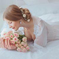 Нежное утро невесты - мечты, ожидания, волнение. Фотосессия утра невесты хороша и эстетична сама по себе, а также несомненно украсит любую фотокнигу.  Фотограф и создание образа [id25242299|Татьяна Пронина]