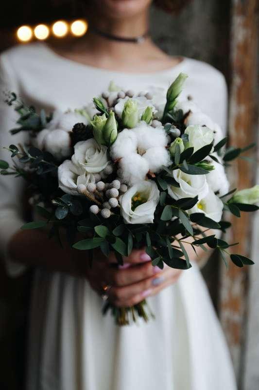 Зимний букет невесты - фото 17093916 Мастерская флористики и декора Irene Me Flor
