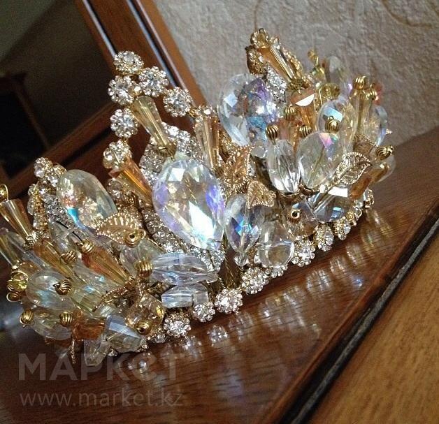 Как сделать корону на свадьбу