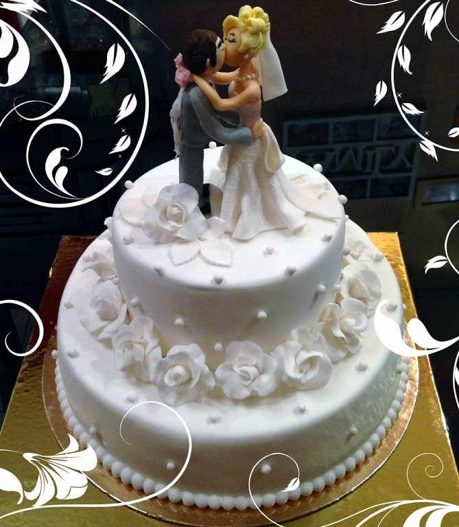 Фото 14338778 в коллекции Свадебные торты - Авторские торты от Анны Мочаловой